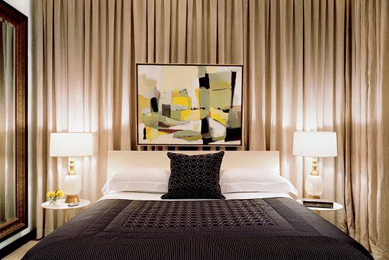Curtains As Backdrop For Bed Bedroom Drapes Living Room Designs