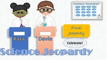 Science Jeopardy Game Powerpoint Game Template For K  Teacher