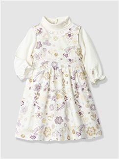 a223e938a6572 Ensemble bébé fille robe + sous-pull - vertbaudet enfant