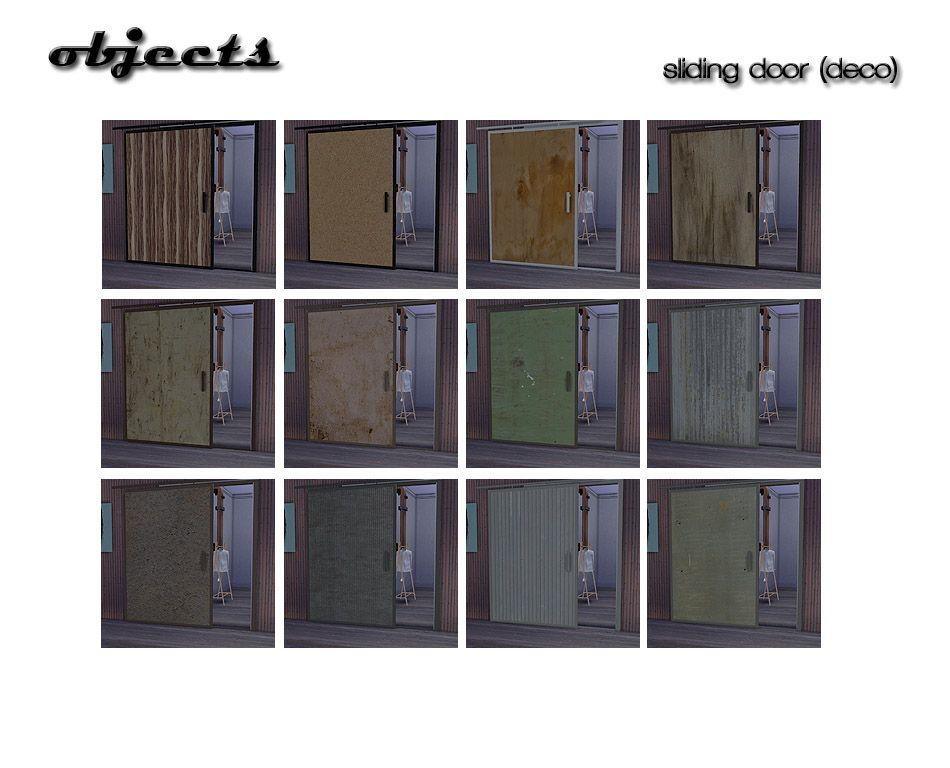 ShojoAngel - Siding door (deco)