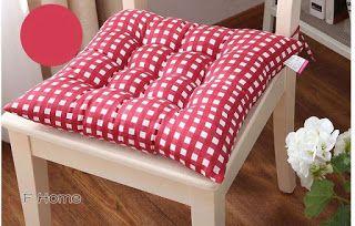 Aprende cómo hacer cojines o almohadones para sillas paso a paso