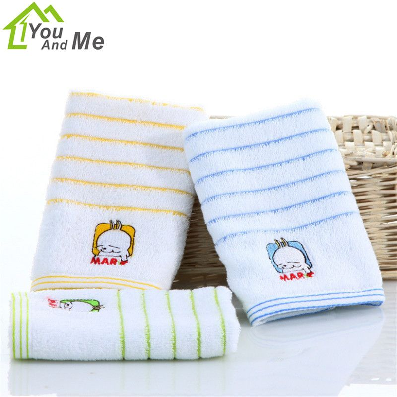 25x50cm Cute Cartoon Mashimaro Pattern Baby Towel 100 Cotton For Children Kids Bath Towel Hand Towel Home Textiles Affil Kids Bath Towel Kids Bath Baby Towel