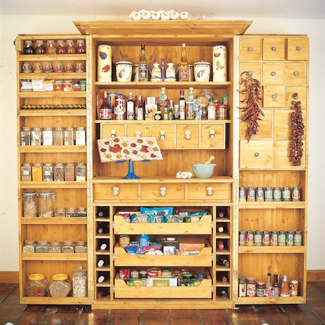 Freestanding kitchens on pinterest 19 pins - Kitchen freestanding pantry ...