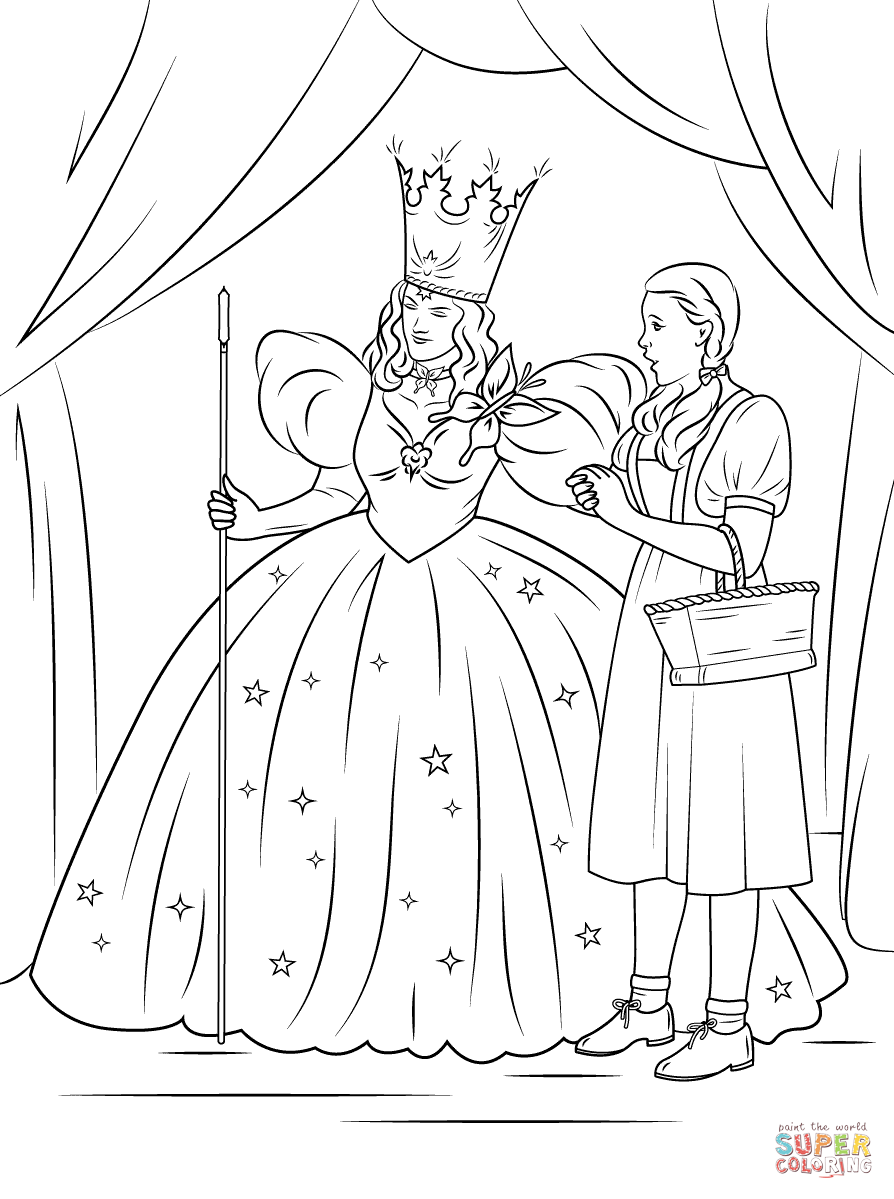 Coloring Wizard Of Oz Coloring Pages New In Plans Free Gallery ...