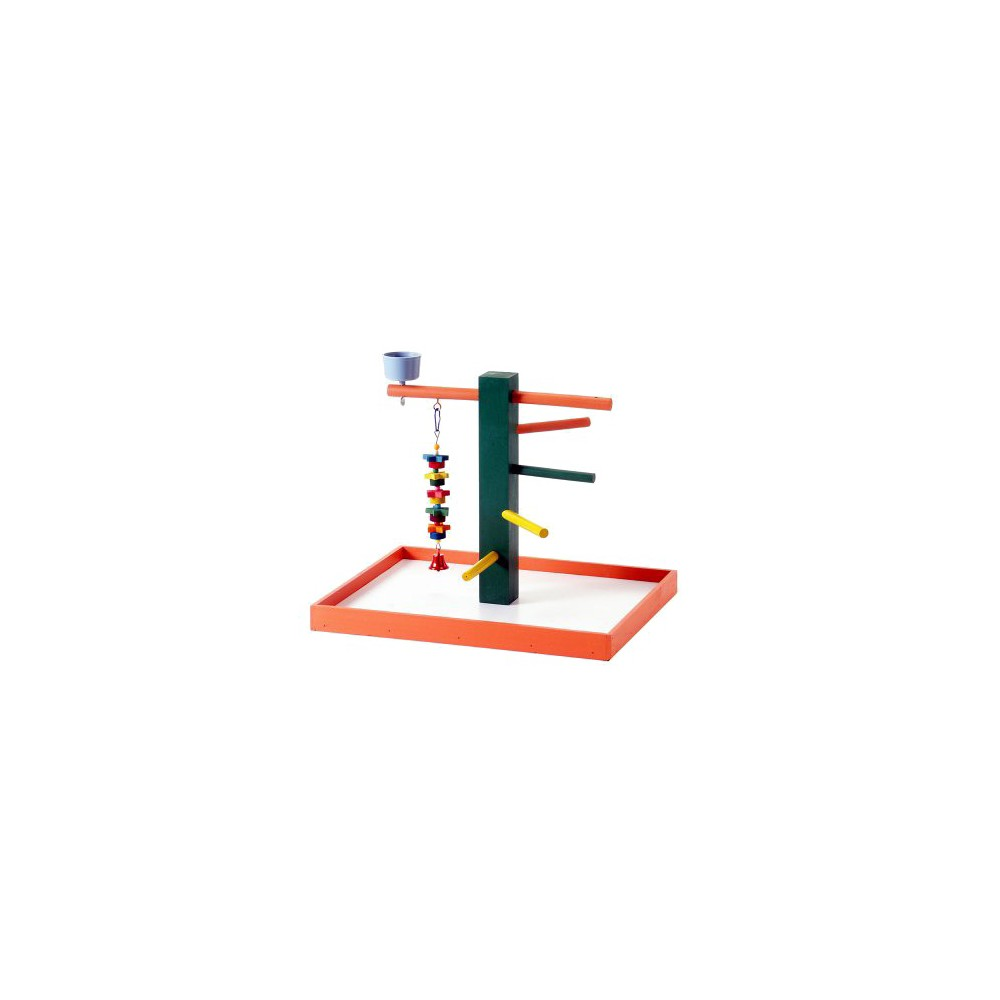 Prevue Pet Products Bird Playpen - Orange - Medium
