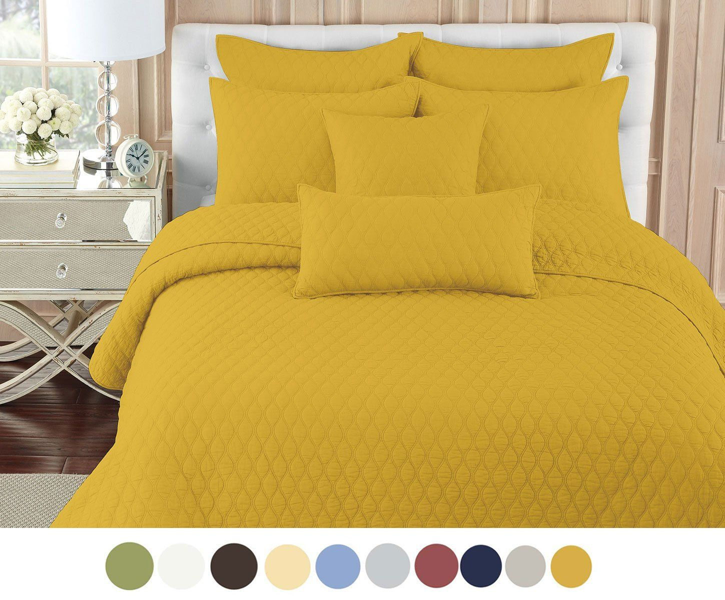 Mustard Yellow Bedding Pillow Covers U0026 Curtains