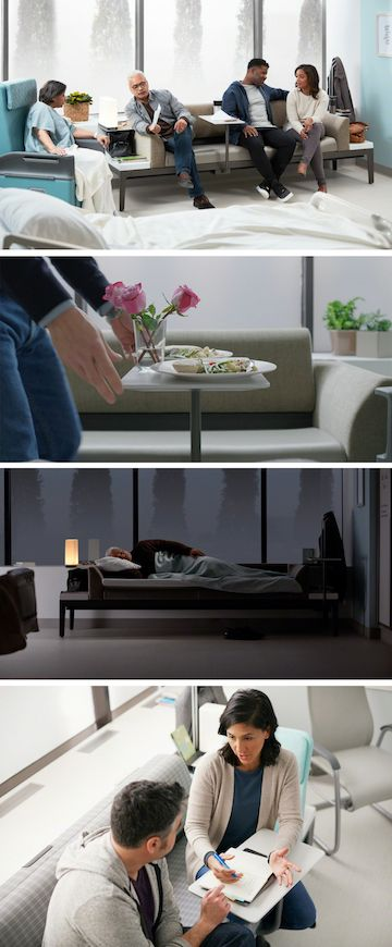 Patient Room Design: Hospital Patient Room Design & Supporting Family