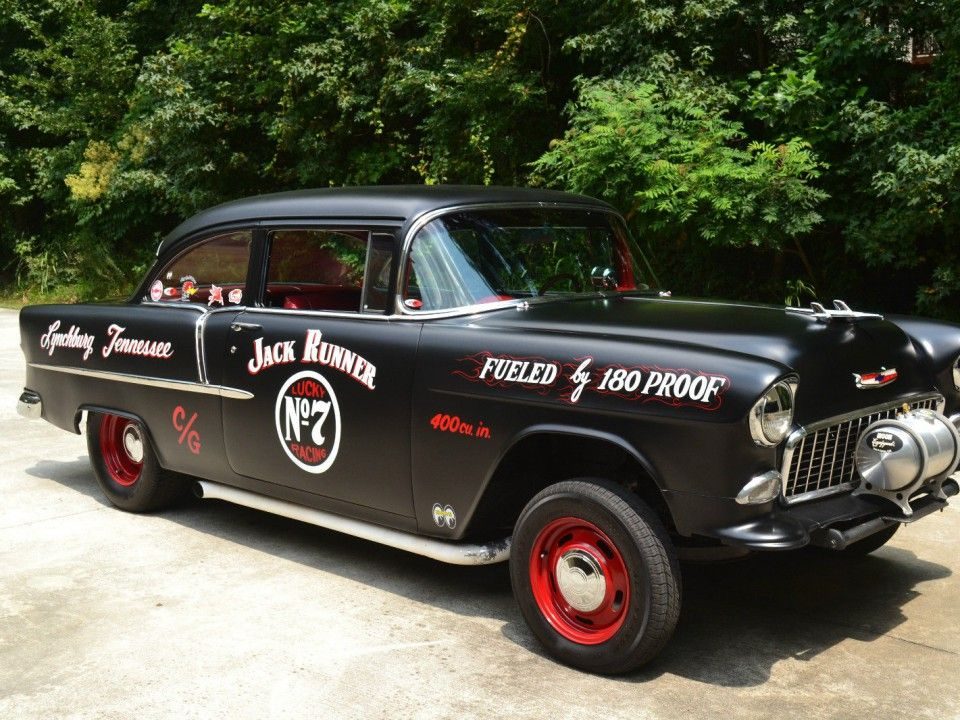 Do you like racing cars? This Chevrolet Bel Air from 1955 is a true ...