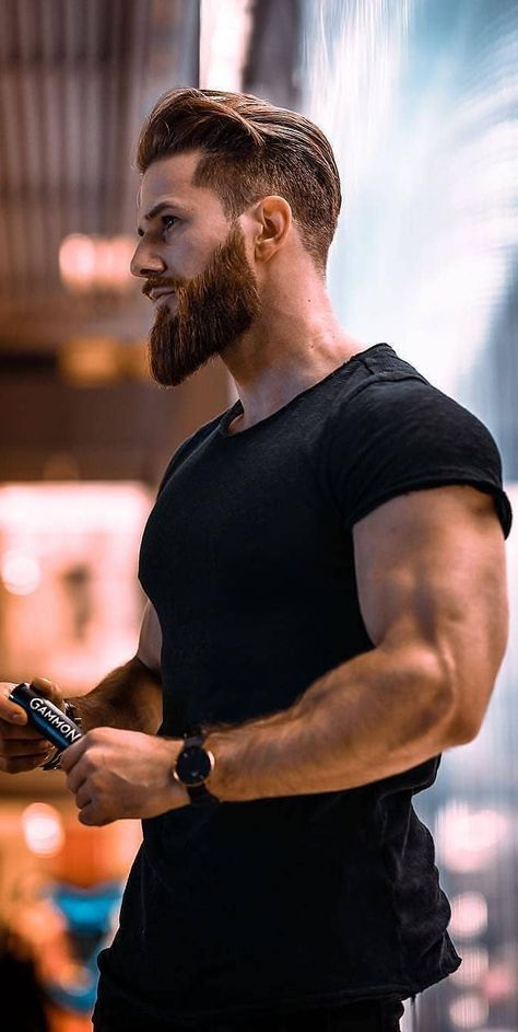 The Best 45 Hairstyle For Men See Before You Go To The Hairdresser Page 12 Of 45 Beard Styles Beard Styles For Men Curly Hair Men