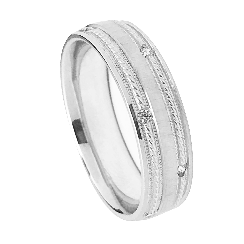 Mens Rope Design With Milgrain Detail Diamond Wedding Ban Mens Diamond Wedding Bands Diamond Wedding Bands Mens Diamond Wedding