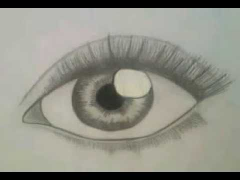 how to draw realistic eyelashes step by step for beginners