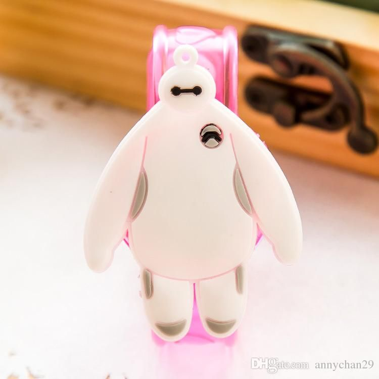 Baymax SpongeBob Monkey Hello Kitty Doraemon Winnie Mickey Cartoon LED Flash Wrist Bracelet Light Luminous Hand Ring Children Toys Wholesale Online with $17.64/Piece on Annychan29's Store | DHgate.com