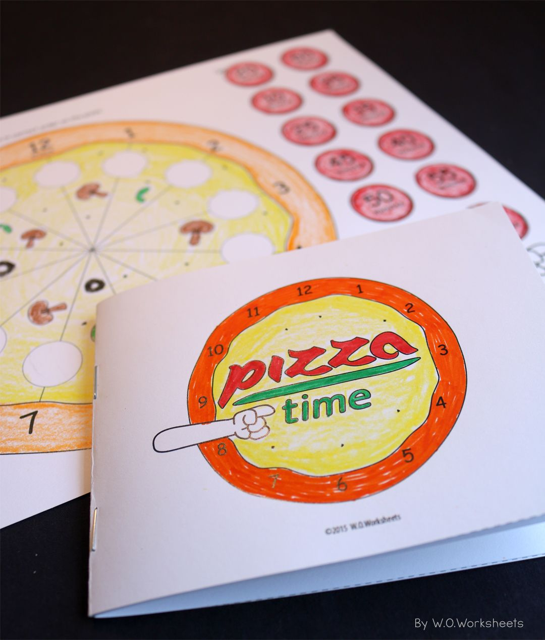 Telling Time With Pizza Fun