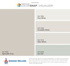 Image Result For Sea Salt And Incredible White Paint Agreeable Gray Eider White Agreeable Gray Sherwin Williams Kitchen
