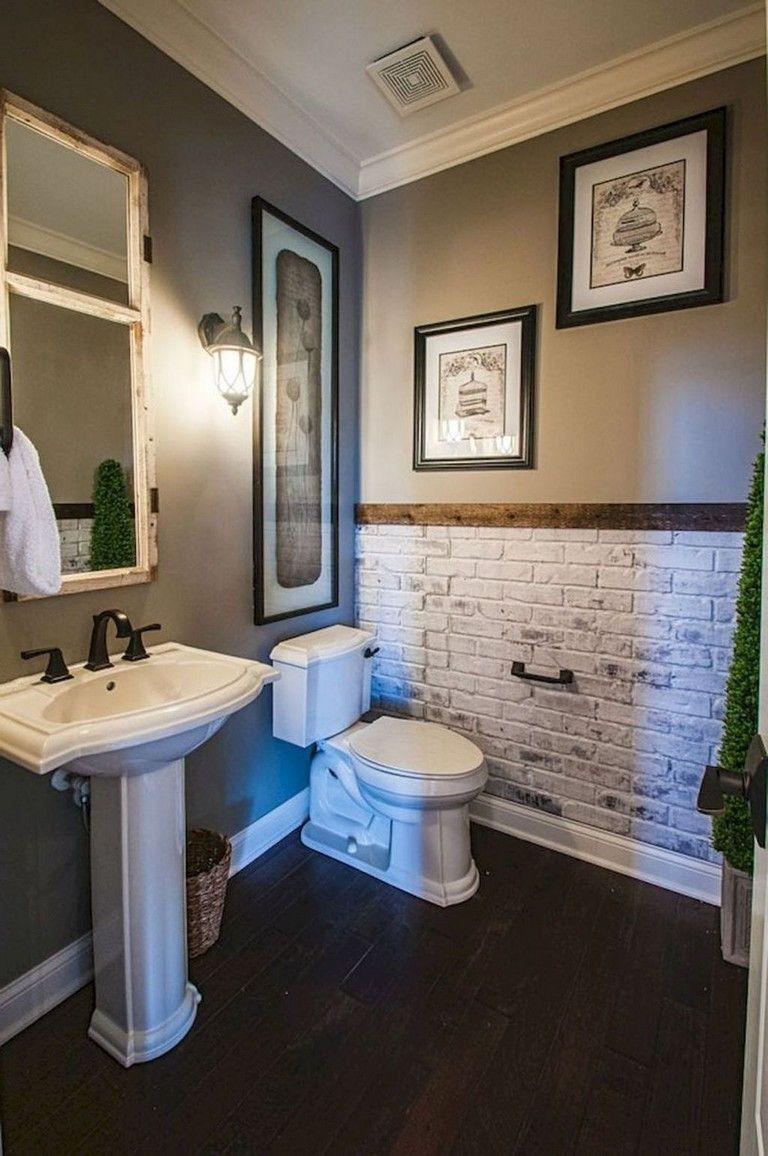40+ Incridible Small Powder Room Ideas #bathroom # ...