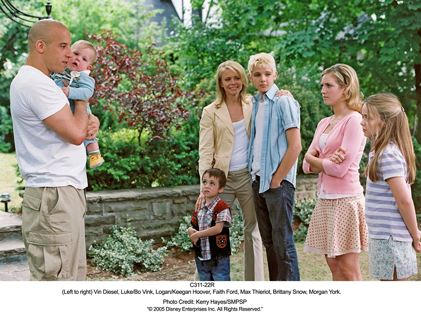 pacifier full movie cast