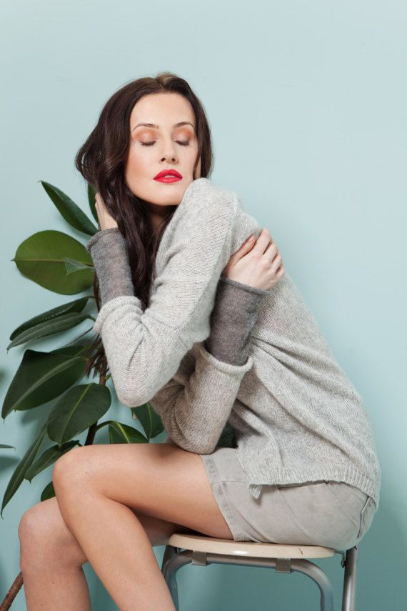 Knitted jacket THE HUG by InmostKnitwear
