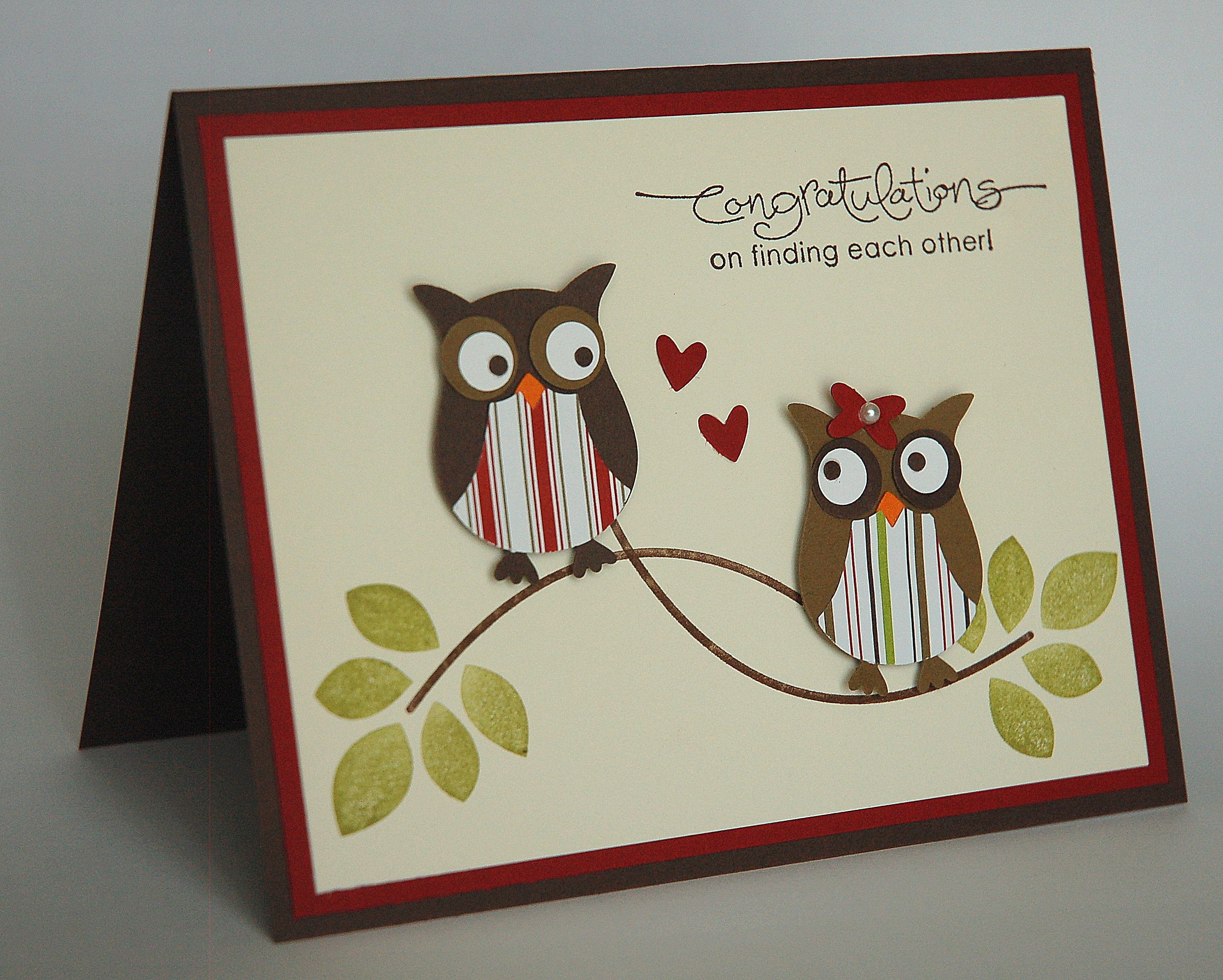 Yippee ium getting a new sister in law wedding shower cards owl