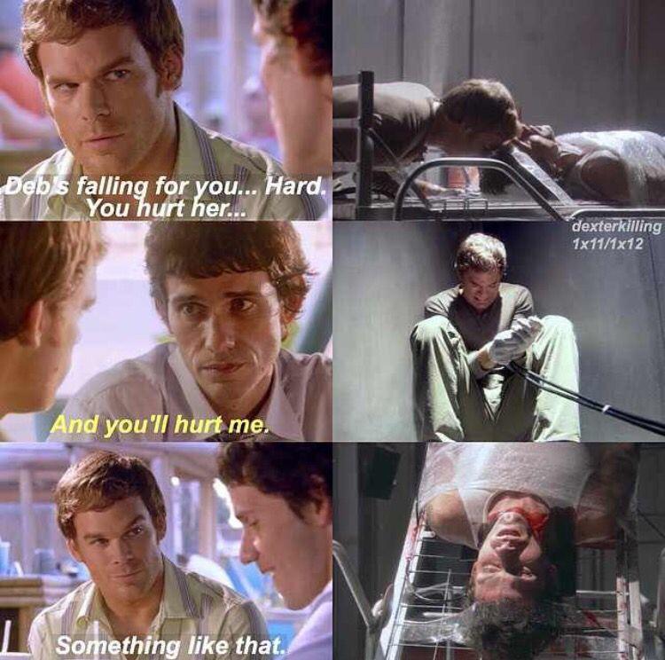 Dexter And Brian Quotes Dexter Morgan Dexter Tv Series Dexter