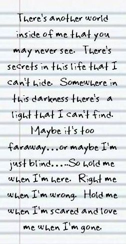 3 Doors Down When I M Gone Sing Me To Sleep Music Quotes