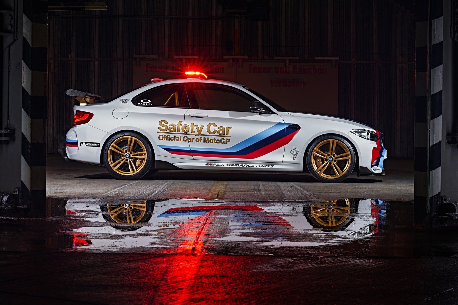 BMW M2 MotoGP Safety Car unveiled [video] (с изображениями