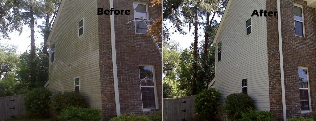 Pressure Washing Before And After From Charleston Pro Wash Www
