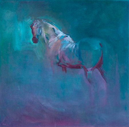 Catherine Thiry Somewhere With Images Horse Drawings Abstract Horse Equestrian Art