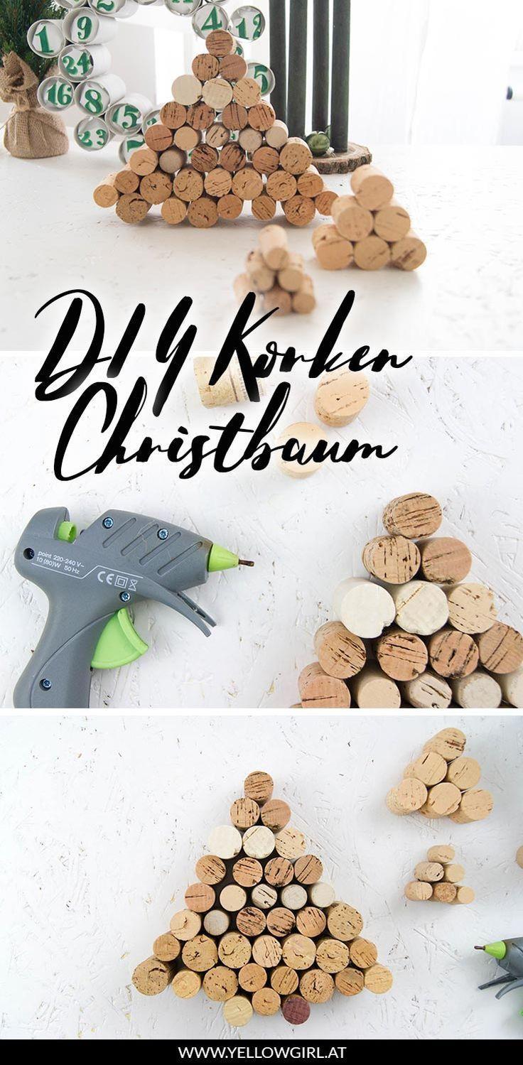 DIY Korken Weihnachtsbaum – das DIY-Lifestyle Magazin