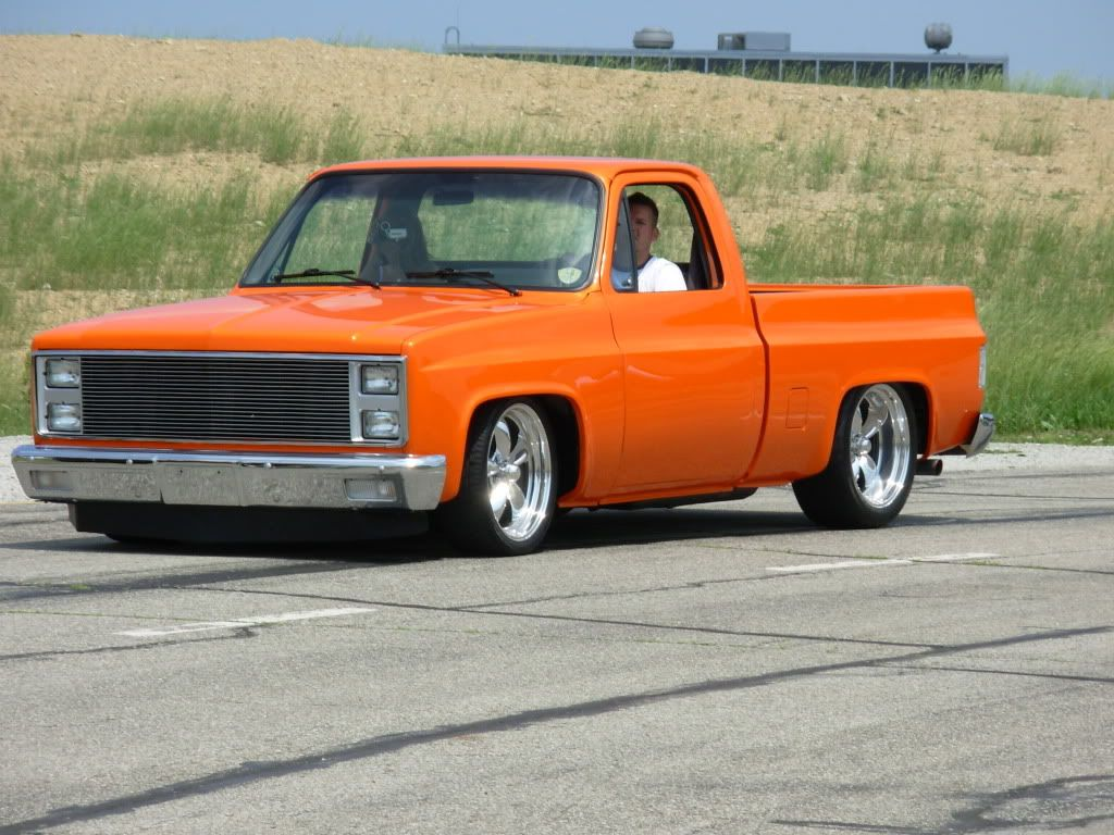 Lets see your orange squarebody pick ups the 1947 present chevrolet gmc truck message board network