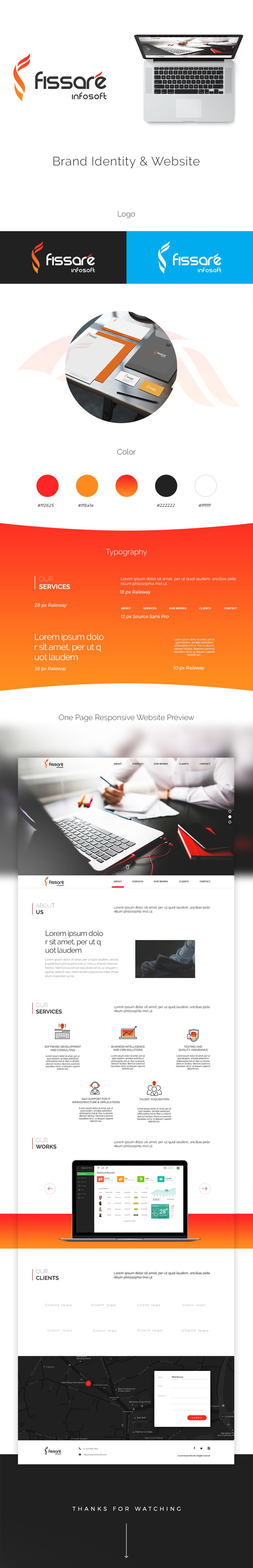 Check Out My Behance Project Fissare Infosoft Corporate Branding Website Design Https Www Behance N Branding Website Design Website Branding Branding