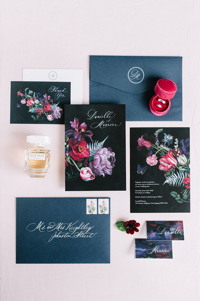 Five unique keepsakes from my wedding day jewel tone
