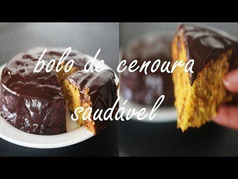 Bolo De Cenoura Fit Youtube Ideias Bolo De Cenoura Drinks
