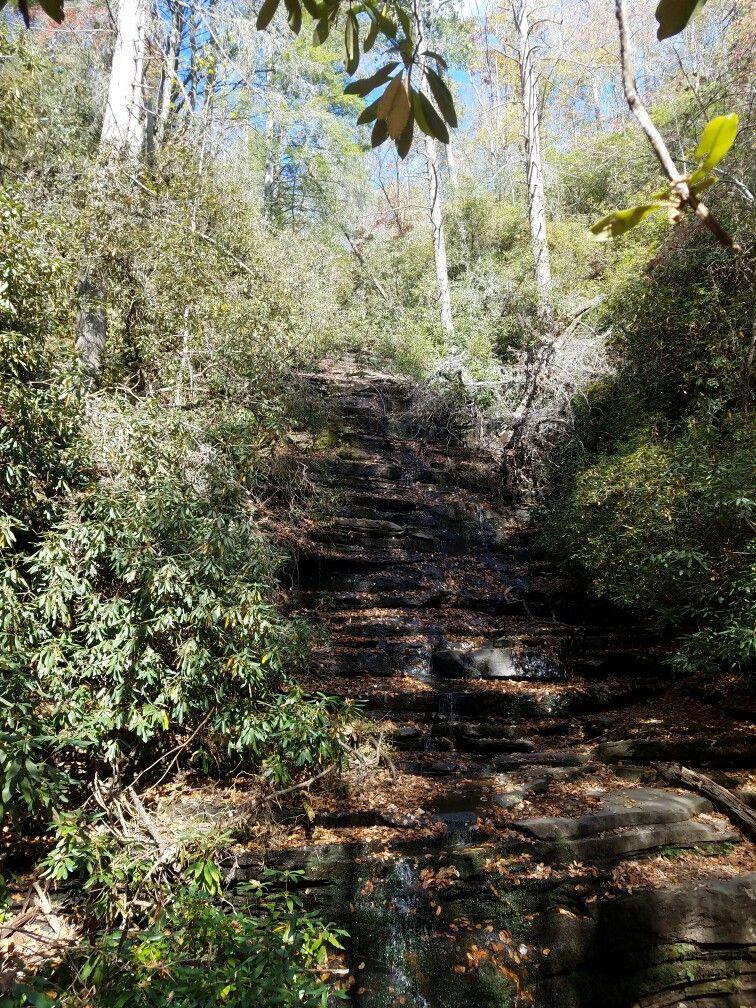 Angel Falls near Lake Rabun Ga