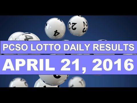 PCSO Lotto Results Today, April 21, 2016 Plus Next Draw Lotto Tips - http://LIFEWAYSVILLAGE.COM/lottery-lotto/pcso-lotto-results-today-april-21-2016-plus-next-draw-lotto-tips/