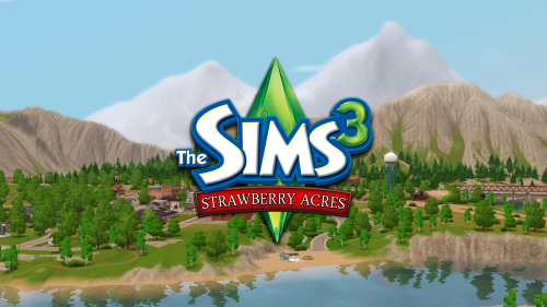 Strawberry Acres   The Sims 3 CC   Sims 3 worlds, Sims 3 mods, Sims 2