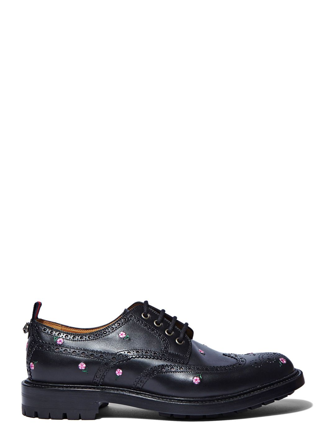 floral embroidered brogues Gucci TpSIkFwb