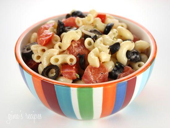 Macaroni Salad with Tomatoes - this is my favorite way to make a macaroni salad.