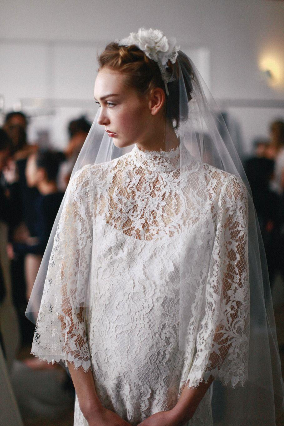 Behind the scenes marchesa bridal ny fashion week in