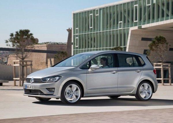 2014 Volkswagen Golf Sportsvan 600x427 2014 Volkswagen Golf