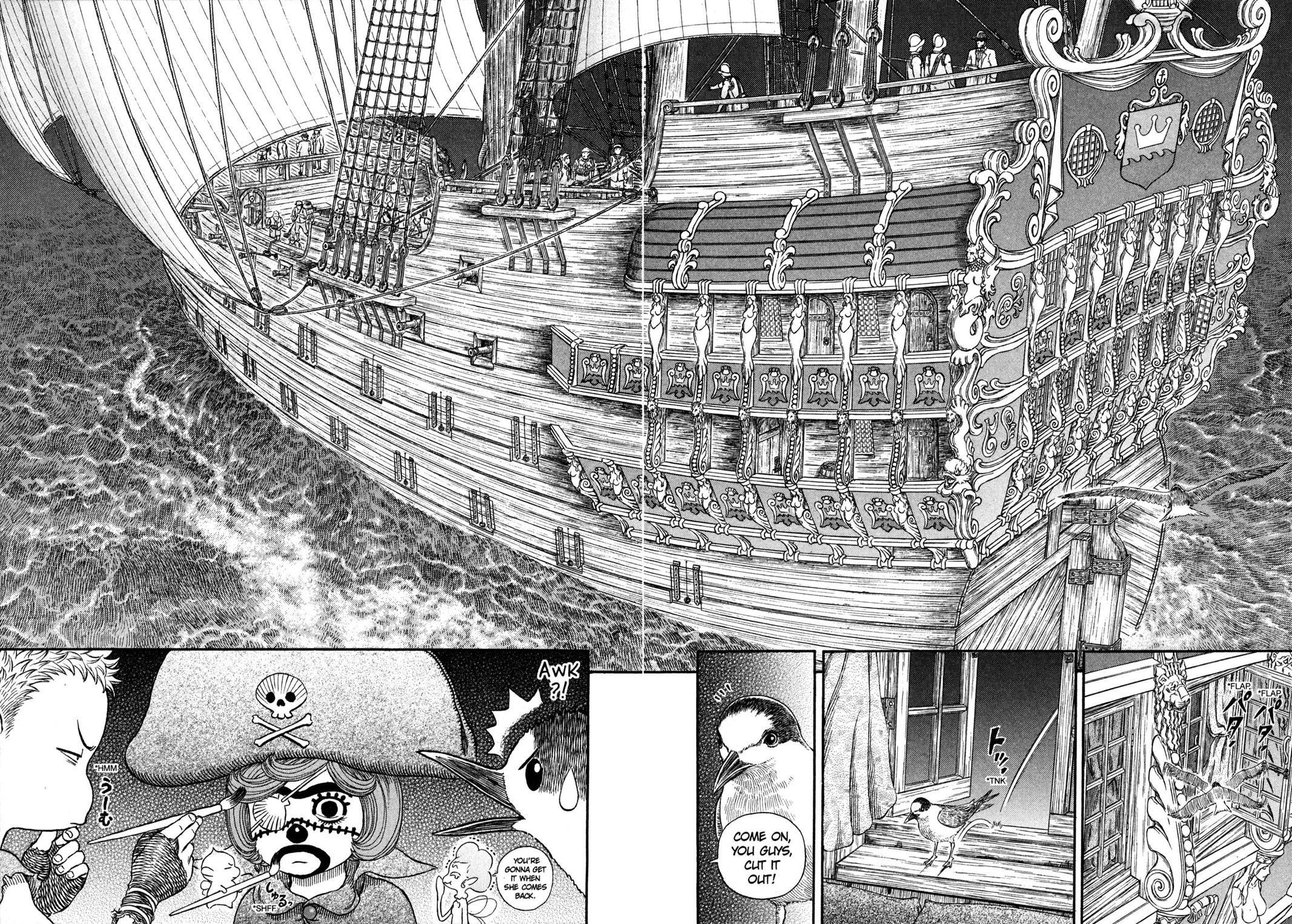 Read manga Berserk Chapter 308 online in high quality