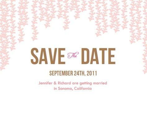 Diy Wedding Save The Date Email How To