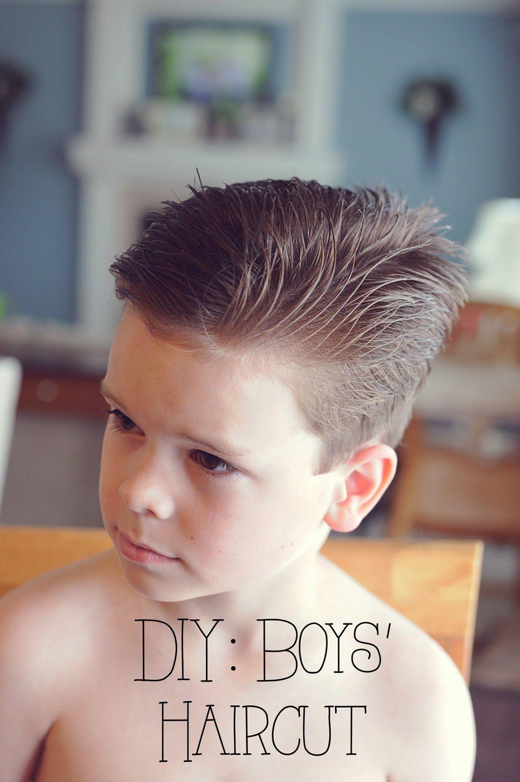 My  Misters  Their Sister DIY Boys Haircut Ideas - How to cut boys hair