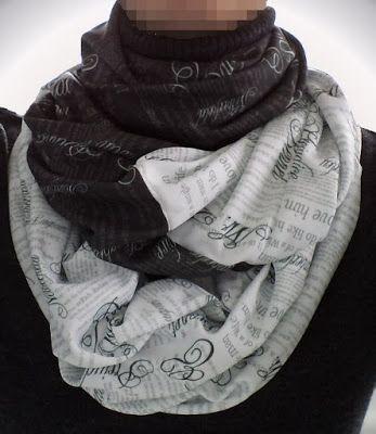 Pride & Prejudice themed infinity mobius scarf by eSheep Designs ...