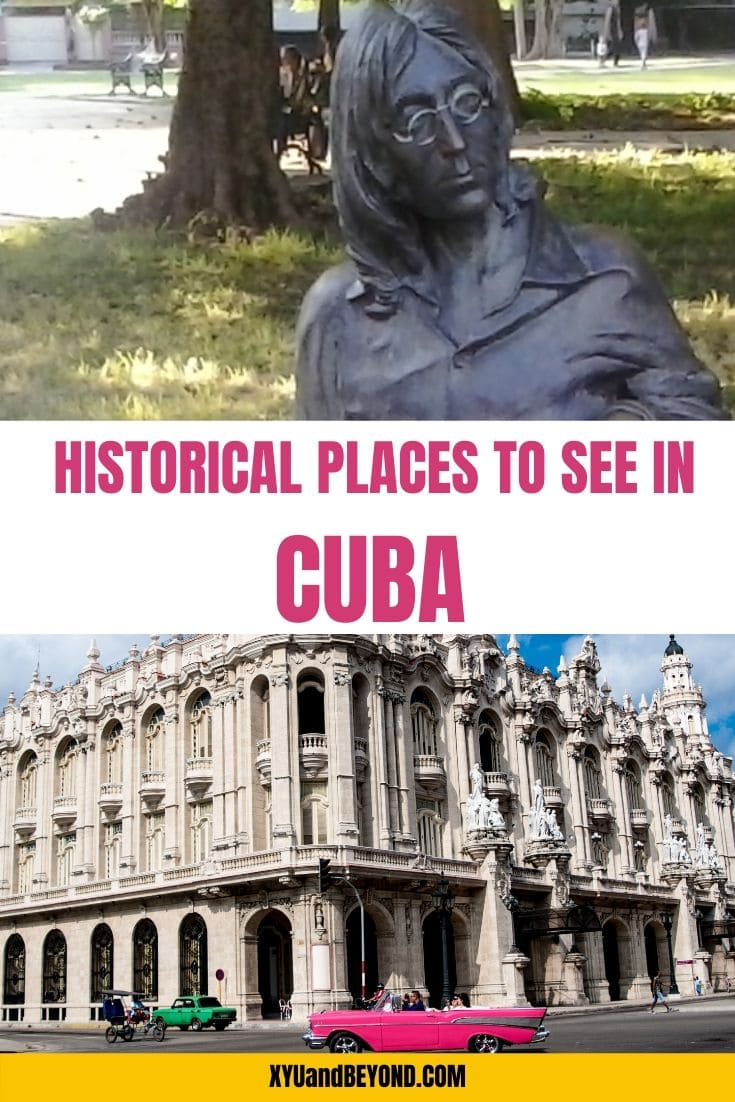 Love history then you need to visit Cuba, Historical sites in Cuba to see when you visit | Cuba for History Buffs #Cuba #history #Caribbean #Cubanhistory #placestoseeinCuba #visitCuba #travelCuba #revolutionCuba #historyofCuba #architectureCuba