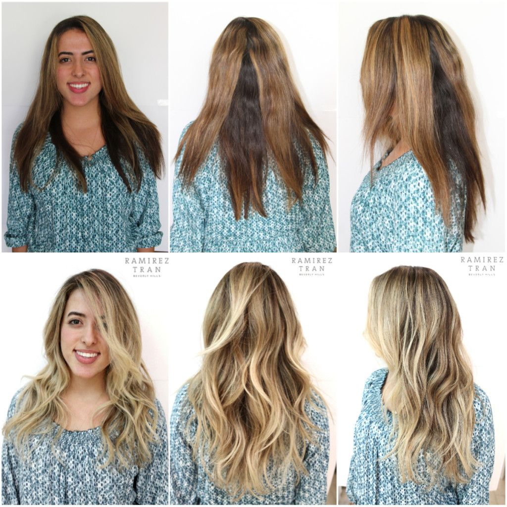 Brunette To Blonde Before And After Hair Inspiration Color Best