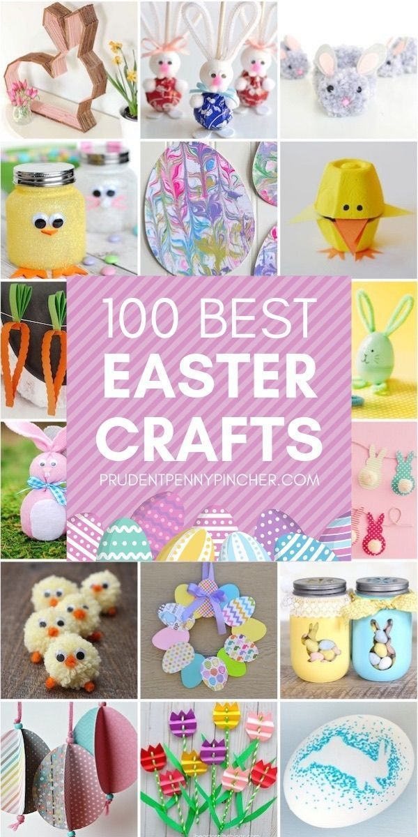 100 Best Diy Easter Crafts - Prudent Penny Pincher Easterdecorations - Diy Crafts