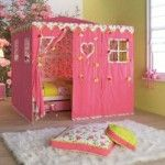 Attractive Kids Bedrooms by Life Time   » kids-bedrooms-pink-tent-theme