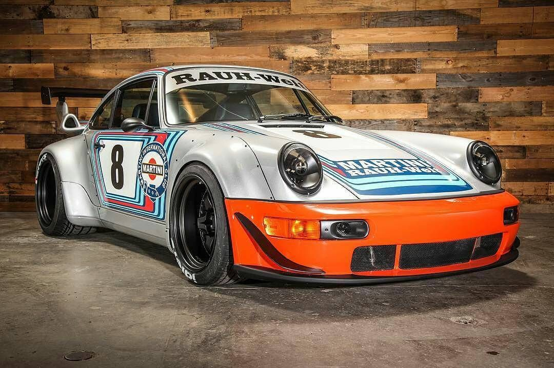 this porsche 964 martini racing from rwb is a beautiful. Black Bedroom Furniture Sets. Home Design Ideas