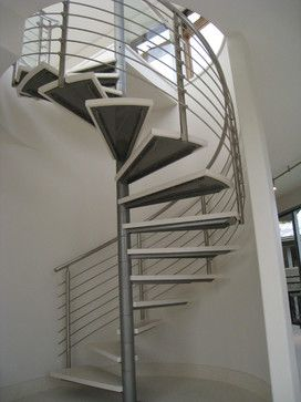 Best Modern Stainless Steel Spiral Stair And Rails 400 x 300