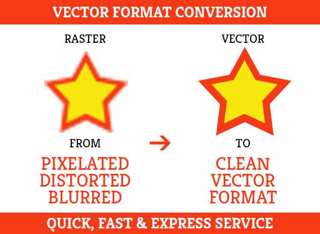 Fiverr freelancer will provide Vector Tracing services and